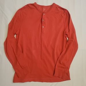 J Crew button long sleeve casual shirt sz Large